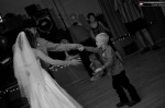 The couple's first dance
